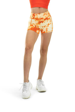 Balance Athletica Bottoms The OG Short - Tie Dye Mango
