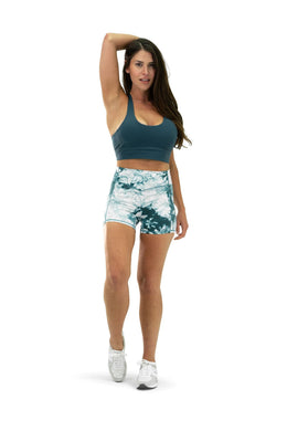 Balance Athletica Bottoms The OG Short - Tie Dye Marine