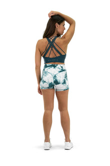 Load image into Gallery viewer, Balance Athletica Bottoms The OG Short - Tie Dye Marine