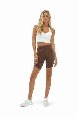 Balance Athletica Bottoms The Rider Short Lux - Panther Earth