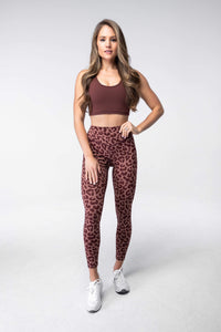 Balance Athletica Bottoms XS The Ascend Pant - King Cheetah Dusk 108KCD-XS