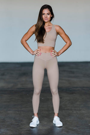 Balance Athletica Bottoms XS The OG Pant - Sand 102SA-XS