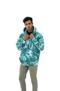 Balance Athletica Crew Sweatshirt The Maker Hood - Tie Dye Dive