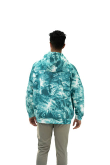 Load image into Gallery viewer, Balance Athletica Crew Sweatshirt The Maker Hood - Tie Dye Dive
