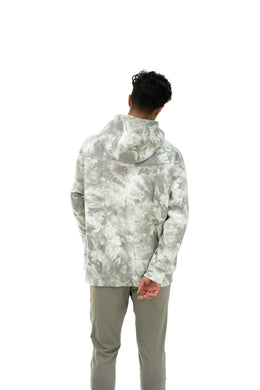 Balance Athletica Crew Sweatshirt The Maker Hood - Tie Dye Sea Salt