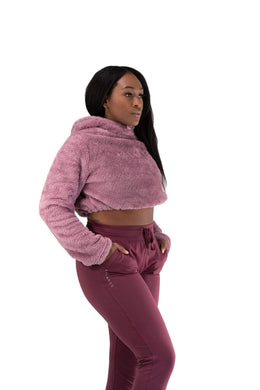 Balance Athletica Crew Sweatshirt The Women's Sherpa Hood - Californica
