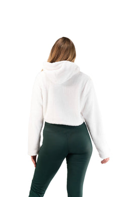 Balance Athletica Crew Sweatshirt The Women's Sherpa Hood - Cloud