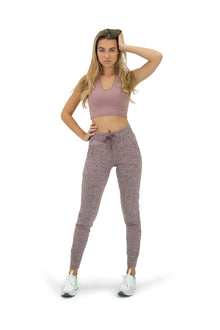Load image into Gallery viewer, The Women's Select Jogger - Heather Rosewood