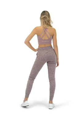 The Women's Select Jogger - Heather Rosewood