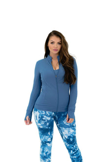 Load image into Gallery viewer, Balance Athletica Tops The Elevate Full Zip - Clarity