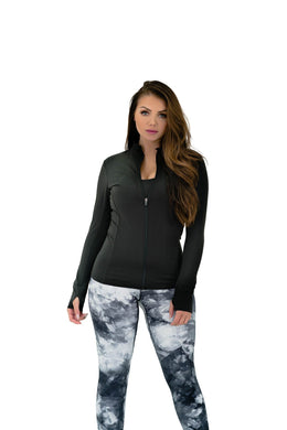 Balance Athletica Tops The Elevate Full Zip - Poise