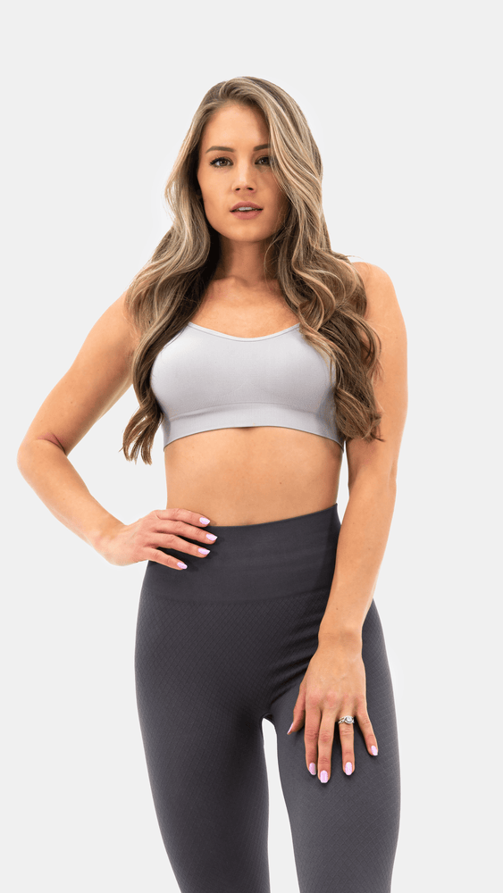 Balance Athletica Tops The Flow Bra - Light Graphite