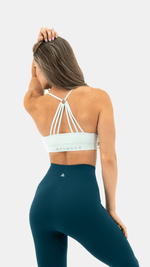 Balance Athletica Tops The Flow Bra - Light Topaz
