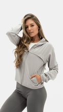 Load image into Gallery viewer, Balance Athletica Tops The Further Jacket - Fog
