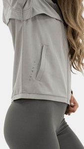 Balance Athletica Tops The Further Jacket - Fog