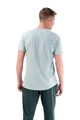 Balance Athletica Tops The Prospect Tee - Salt Water