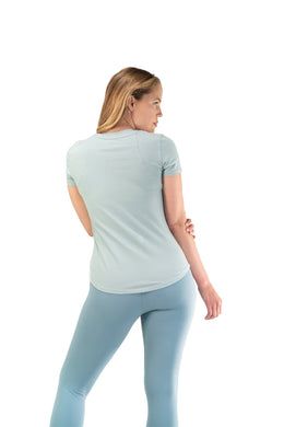 Balance Athletica Tops The Serene Tee - Salt Water