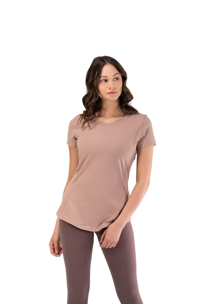 Balance Athletica Tops The Serene Tee - Shore