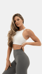 Balance Athletica Tops The Unity Bra - Cloud