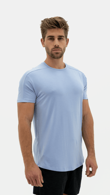 Load image into Gallery viewer, Balance Athletica Tops The Vital Tee - Sky