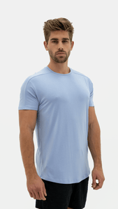 Balance Athletica Tops The Vital Tee - Sky