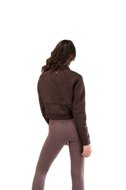 Balance Athletica Tops The Women's Flight Jacket - Drift - Fleur