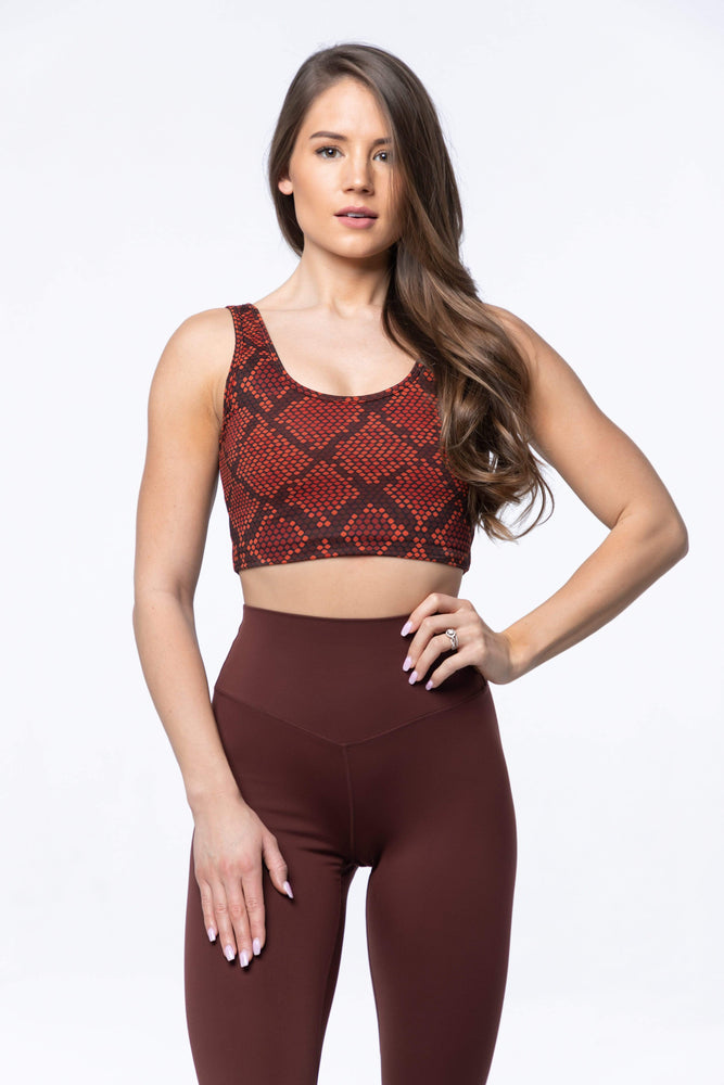 Balance Athletica Tops XS The Ascend Top - Copperhead 107CH-XS