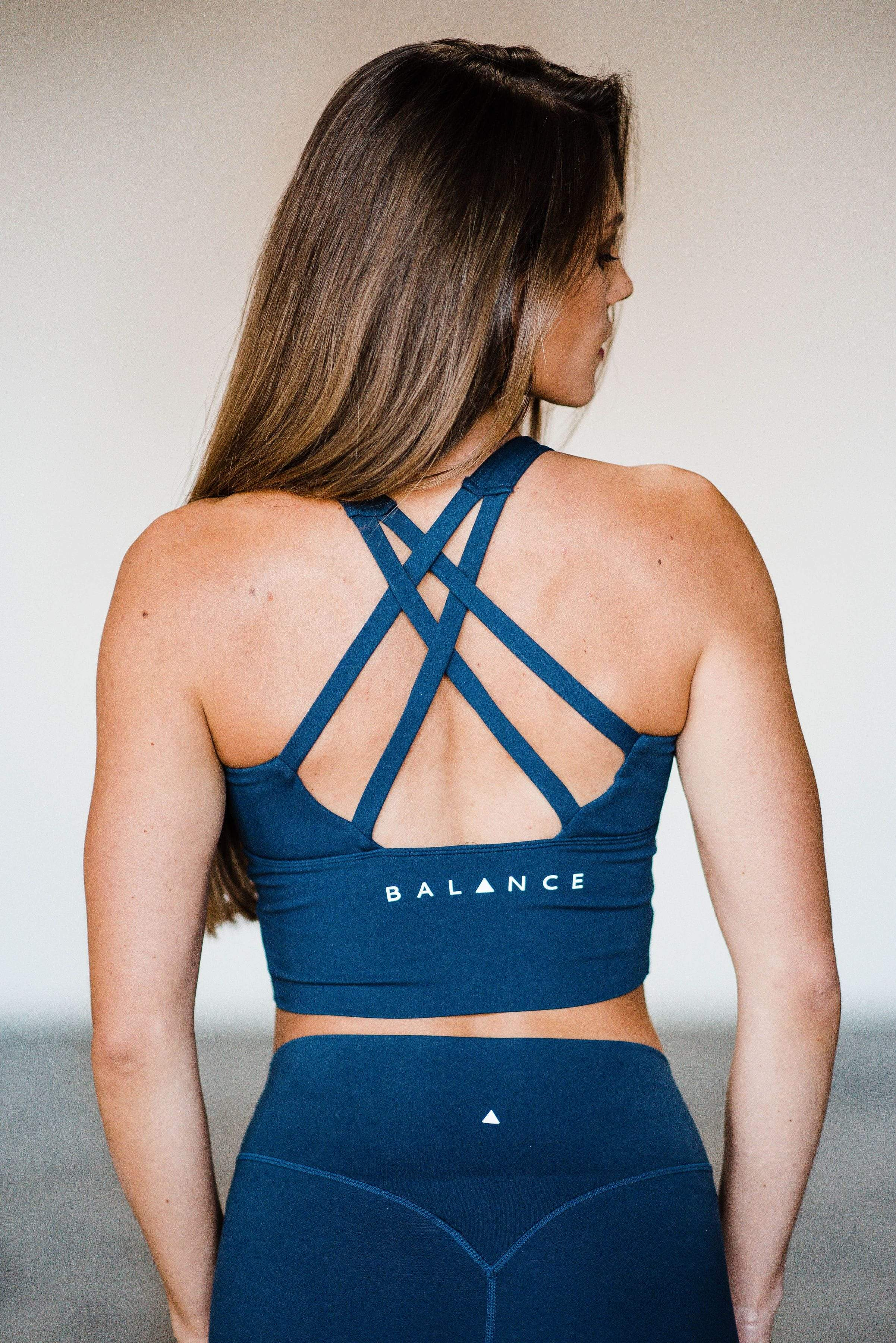Balance Athletica Tops XS The Define Top - Rain 101R-XS