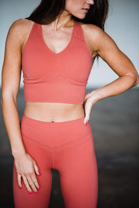 Balance Athletica Tops XS The Define Top - Rose 101RO-XS