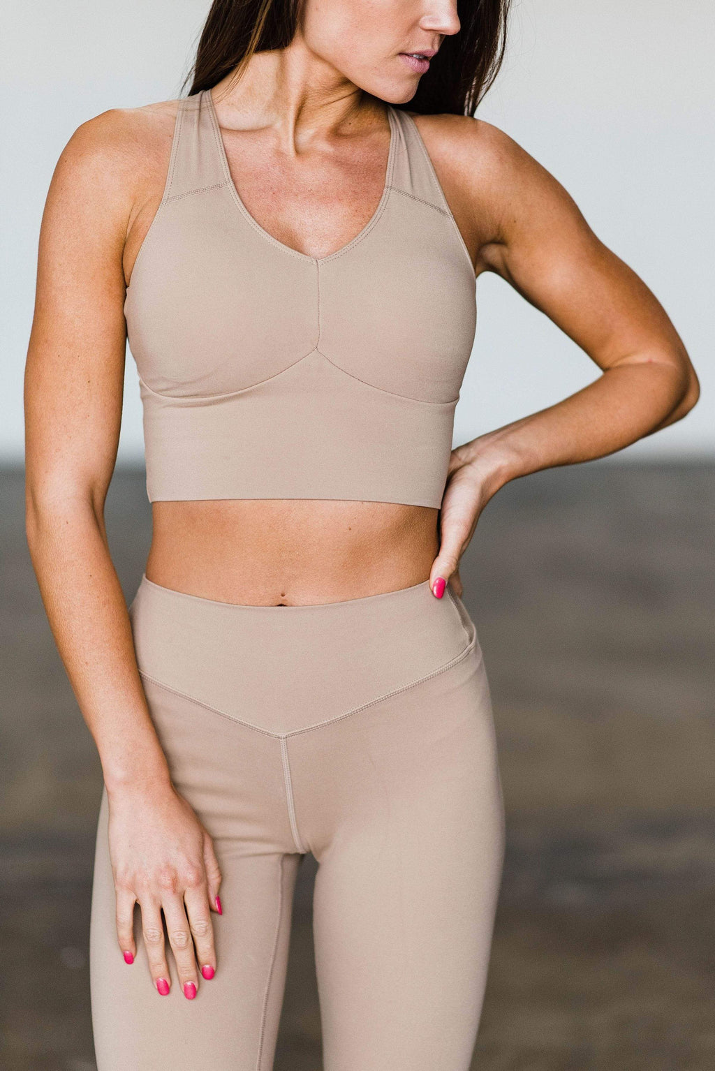 Balance Athletica Tops XS The Define Top - Sand 101SA-XS