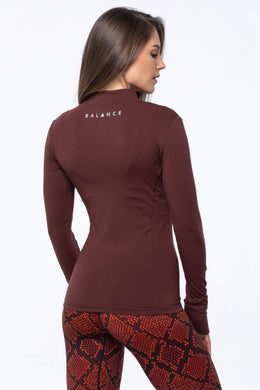 Balance Athletica Tops XS The Elevate Full Zip - Kodiak 110K-XS