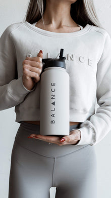 Load image into Gallery viewer, Balance Athletica Water Bottle The Element Bottle - Vapor 105V