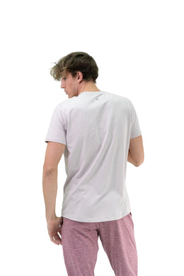The Prospect Tee - Lila - Sweeping Seam