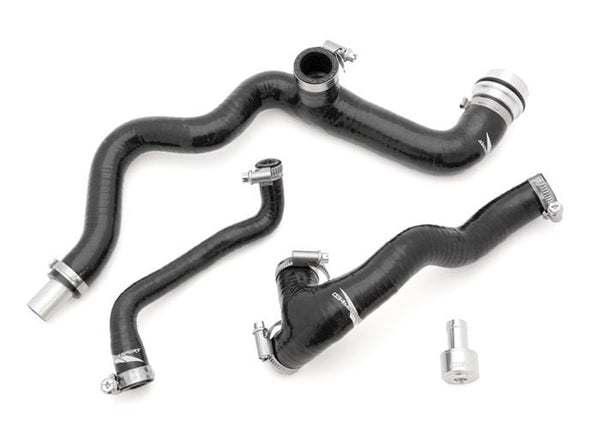034 Motorsport Billet PCV / AWW and Early Style AWP 1.8T Breather Hose Kit for 2001-up AWw/AWP Mk4 | 034 Reinforced Silicone 034_Mk4-Breather
