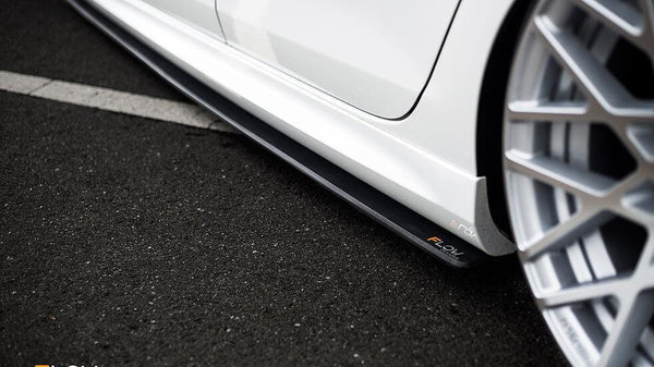 Flow Designs VW MK6 Golf R Side Splitters (Pair) MK6RS