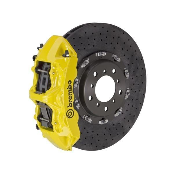Brembo Brembo GT CCM-R Systems 380x34 CCM-R 6-Piston Yellow Drilled Front 1L9.9003A5