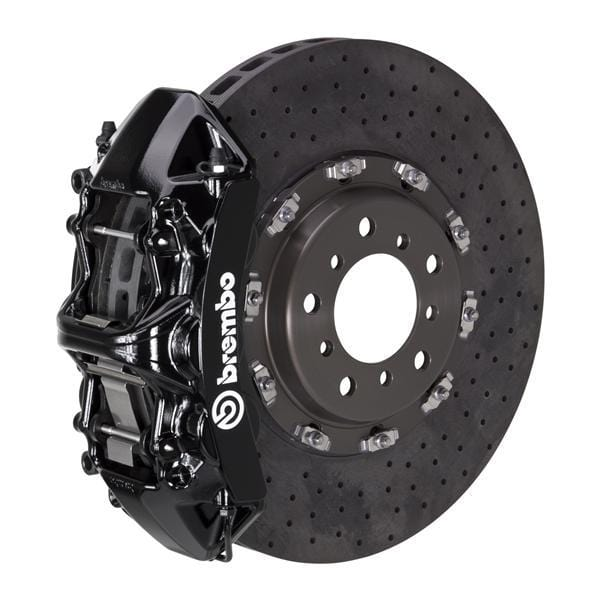 Brembo Brembo GT CCM-R Systems 380x34 CCM-R 6-Piston Black Drilled Front 1L9.9004A1