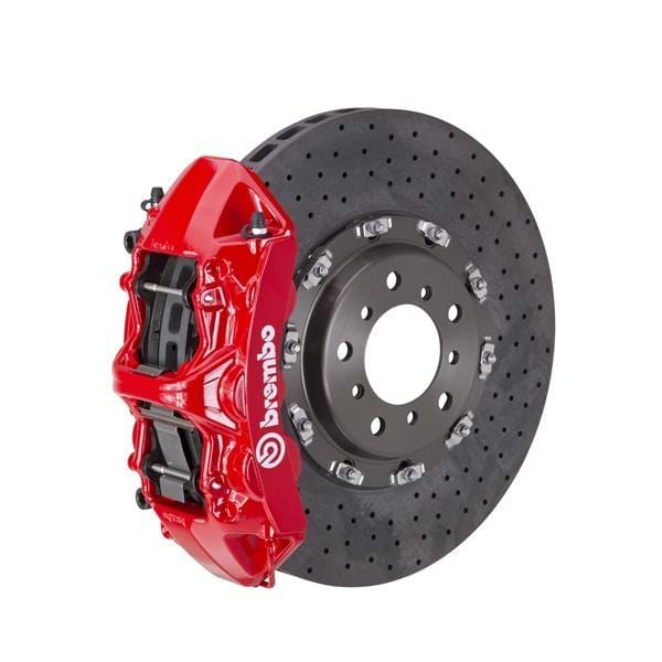 Brembo Brembo GT CCM-R Systems 380x34 CCM-R 6-Piston Red Drilled Front 1L9.9013A2