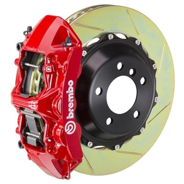 Brembo Brembo GT Systems 355x32 2-Piece 6-Piston Red Slotted Front 1M2.8011A2