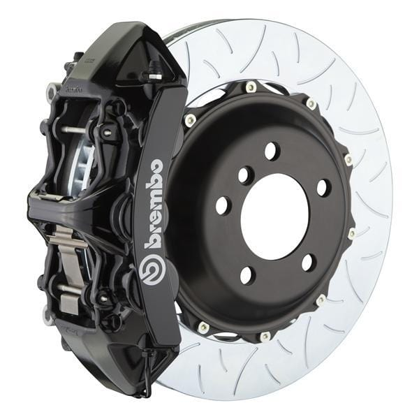 Brembo Brembo GT Systems 355x32 2-Piece 6-Piston Black Slotted Type-3 Front 1M3.8011A1