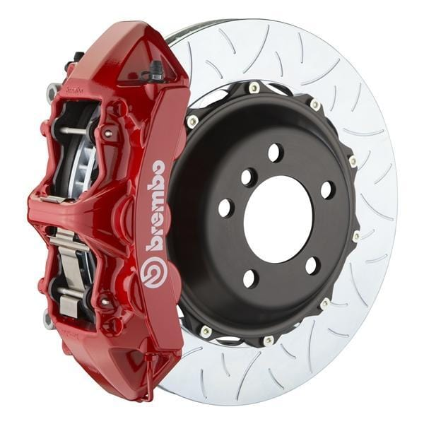 Brembo Brembo GT Systems 355x32 2-Piece 6-Piston Red Slotted Type-3 Front 1M3.8011A2