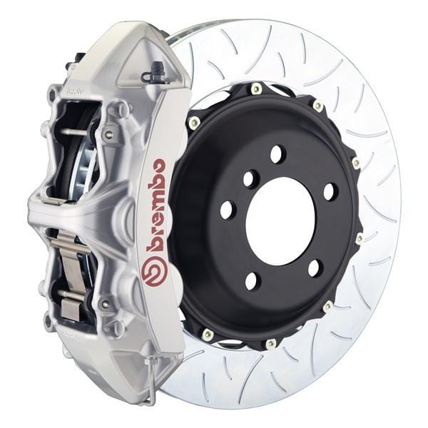 Brembo Brembo GT Systems 355x32 2-Piece 6-Piston Silver Slotted Type-3 Front 1M3.8011A3