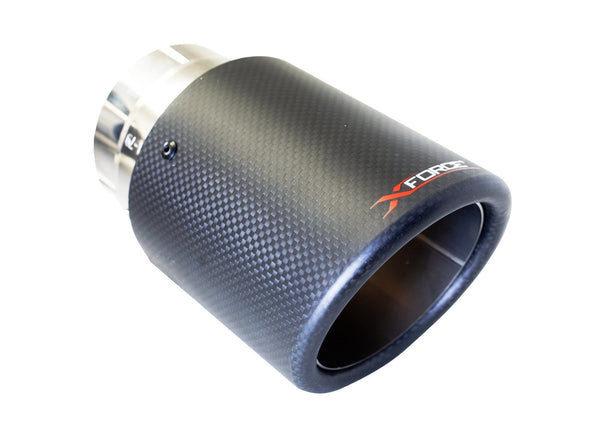 "xforce XForce 4"" Angle Cut Carbon Fiber Tips 