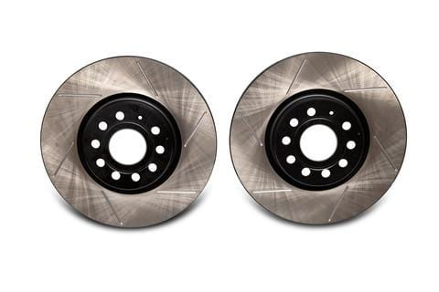 Emmanuele EMD Auto 312x25mm Coated High Carbon Front Slotted Brake Rotor (Pair) | EMD-Front-Carbon-Slotted-Rotor-NonPP