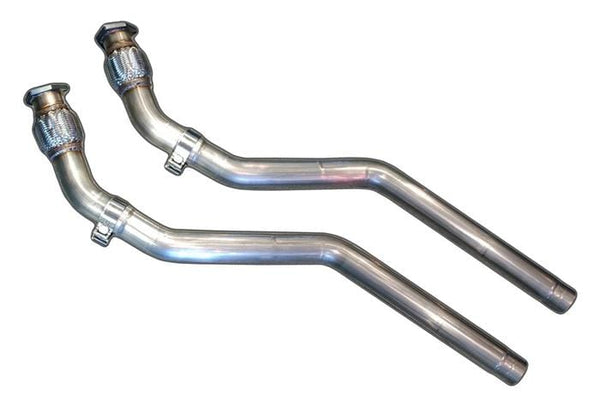 AWE Tuning Non-Resonated AWE Tuning Audi S5 4.2L V8 Downpipes 3215-11036
