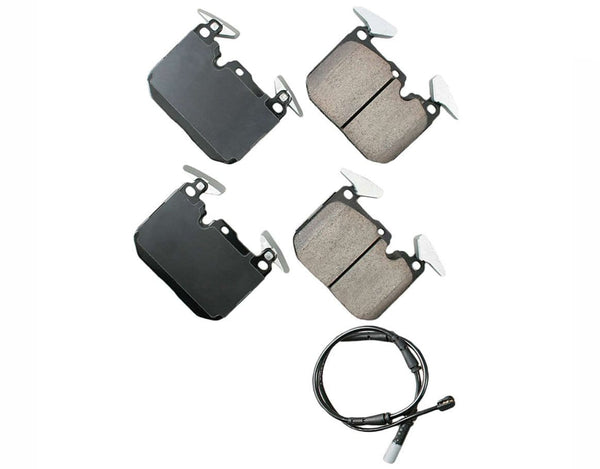 Akebono Brake Pads Front - BMW F2x 228i / F3x 320i & more (fits many models check fitment) 34106799801-AKE