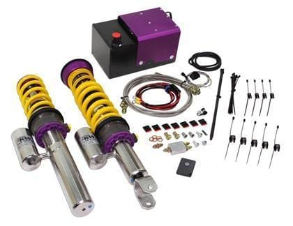 KW Suspension KW HLS4 Coilover System w/ V3 Coilovers - 997 Turbo|S 35271429