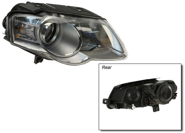 Hella Right Headlight Assembly OE Halogen | B6 Passat 3C0941006AE