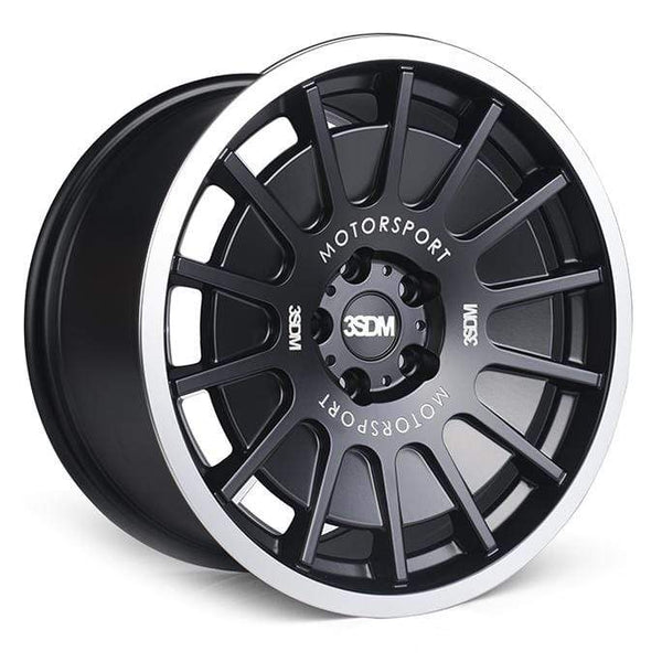 "3SDM 5x100 / 18x8.5 et35 3SDM 0.66 Wheel | 18"" Matte Black S8855100BP06635"