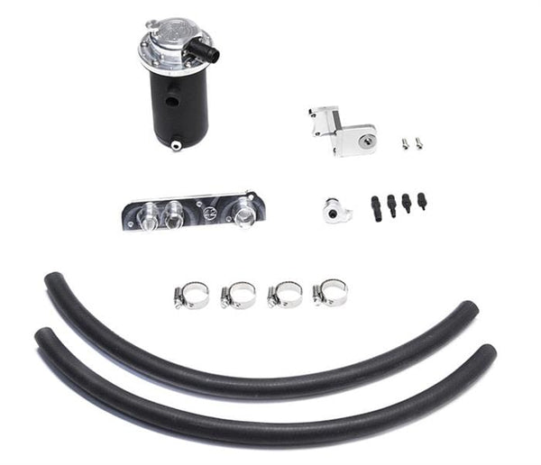 42 Draft Designs Black Finish 42DD Ultimate Oil Catch Can Kit | Mk5 | A3 | B6 2.0T FSi 42-CCS-5C2